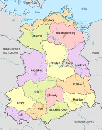 Bezirke der DDR