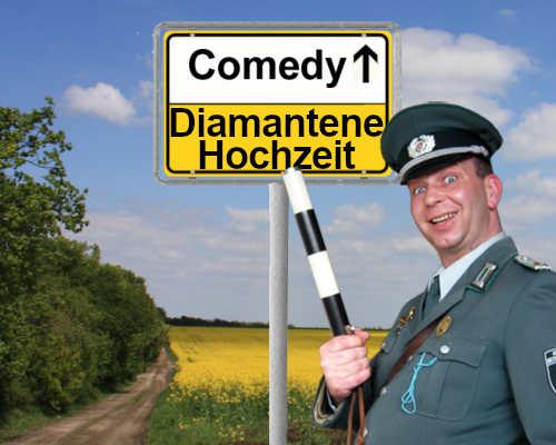 DDR Comedy Show als Unterhaltung zur Diamantenen Hochzeit