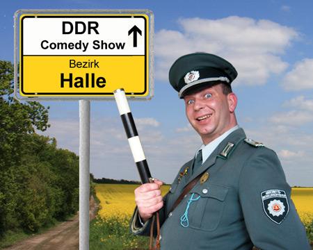 DDR Komiker und Alleinunterhalter im Bezirk Halle